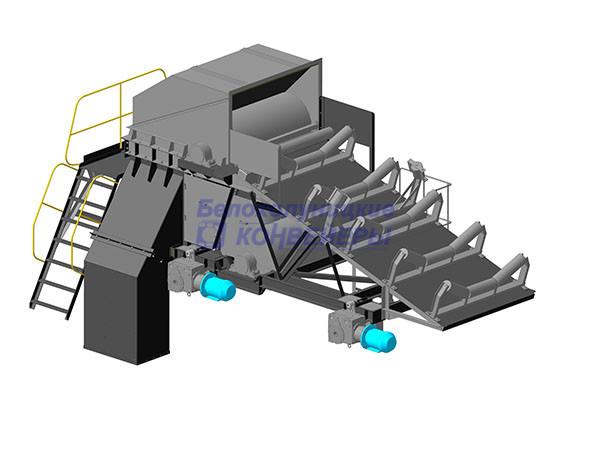 Тележка разгрузочная конвейера прицеп с винтовым конвейером для farming simulator 2019